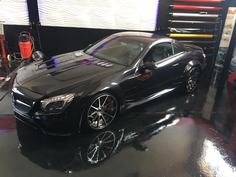 Mercedes SL R230 R231 Widebody Blackseries Design Optik Tuning FL Exclusiv Carstyling  (5)