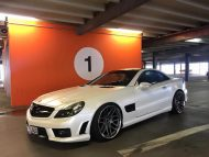 Mercedes SL R230 SL63 65 AMG Umbau FL Exclusive Cardesign 1 190x143 Komplettprogramm   Mercedes SL R230 in SL63/65 Optik