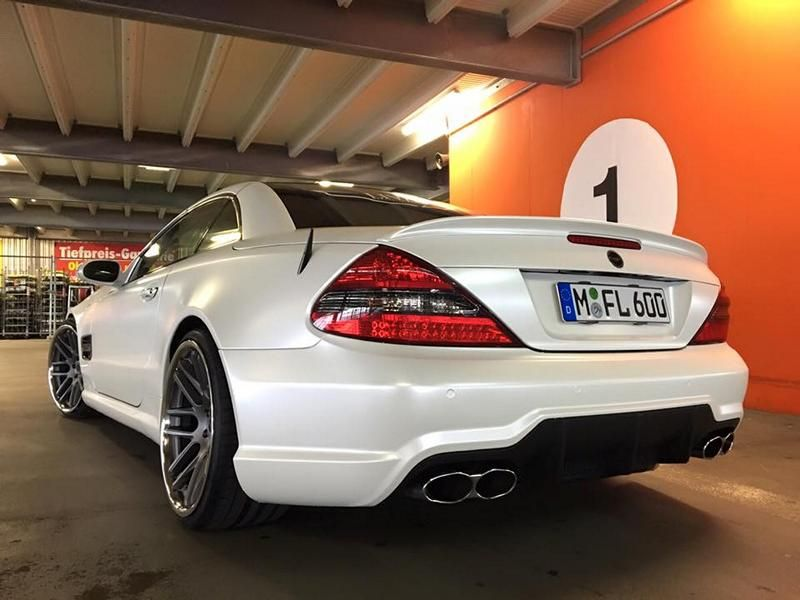 Mercedes SL R230 SL63 65 AMG Umbau FL Exclusive Cardesign 2 Komplettprogramm   Mercedes SL R230 in SL63/65 Optik