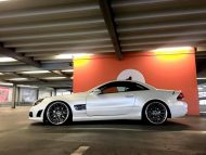 Mercedes SL R230 SL63 65 AMG Umbau FL Exclusive Cardesign 5 190x143 Komplettprogramm   Mercedes SL R230 in SL63/65 Optik