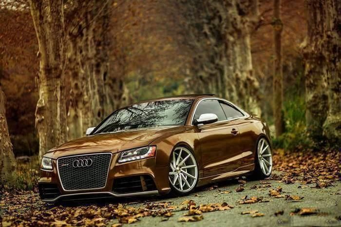 Metallic Braun Brown Audi A5 RS5 Coupe tuningblog.eu 1 Chrom Pink Folierung am Audi A5 RS5 Coupe by tuningblog.eu