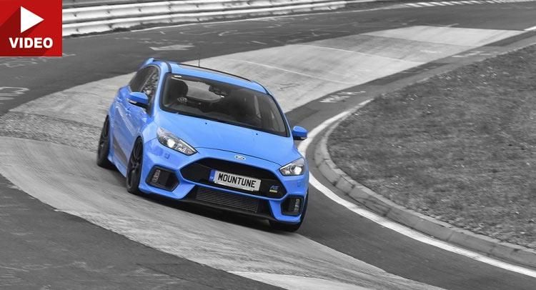 Mountune Stage 1 Tuning am 2016er Ford Focus RS