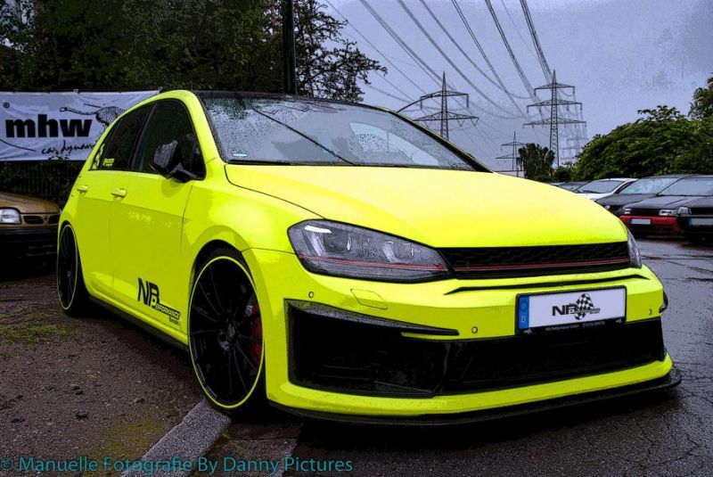 nb performance golf vii gti neon optik 20 z ller tuning 3. Black Bedroom Furniture Sets. Home Design Ideas