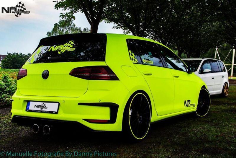 nb performance golf vii gti mit neon optik 20 z llern