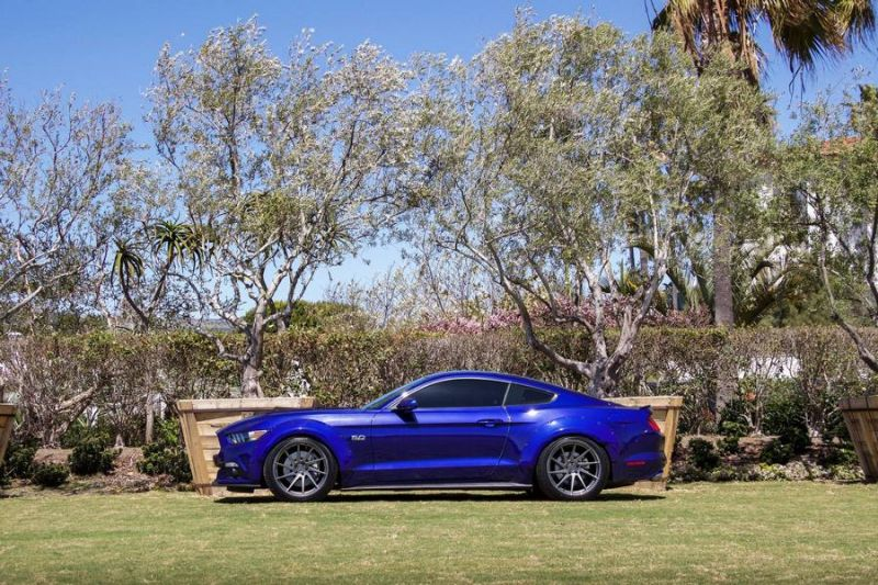 Need4Speed Motorsports Widebody Ford Mustang GT S550 AG M621 Tuning 1 Need4Speed Motorsports Ford Mustang GT S550 auf AG Wheels