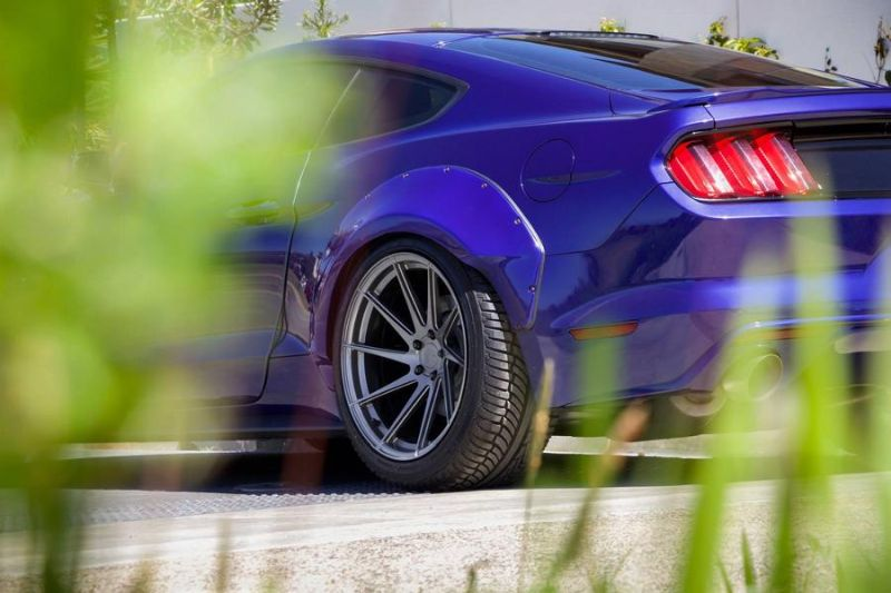 Need4Speed Motorsports Widebody Ford Mustang GT S550 AG M621 Tuning 2 Need4Speed Motorsports Ford Mustang GT S550 auf AG Wheels