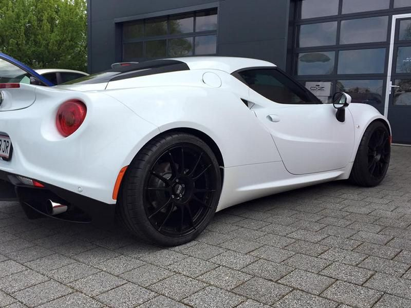 OZ RACING Ultraleggera HLT Pogea Racing Alfa 4C Tuning 2 OZ RACING Ultraleggera HLT Alu's am Pogea Racing Alfa 4C