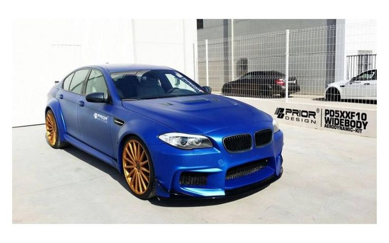 PD5XXF10 WIDEBODY Aerodynamic Kit na BMW 5 SERIES F10 M5 Prior Design PD5XXF10 Widebody BMW M5 F10 by tuningblog.eu