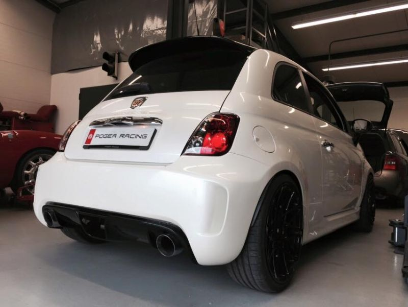 Pogea Racing GTR230 Abart 500 219PS 329NM Bodykit Tuning 3 Klein aber OHO   Pogea Racing Abarth 500 mit 219PS & 329NM