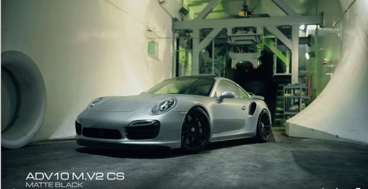 Porsche 911 991 Turbo S auf ADV.1 Wheels Alufelgen Video + Foto: Porsche 911 (991) Turbo S auf ADV.1 Wheels Alufelgen
