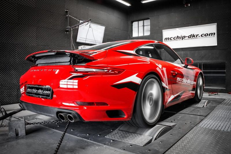 Porsche 991 (911) Carrera S 485PS by Mcchip-DKR Chiptuning 4