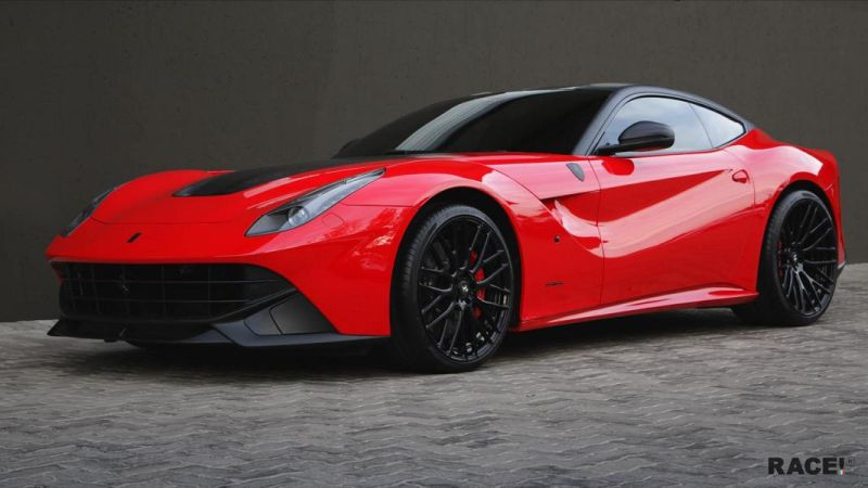 RACE South Africa Ferrari F12 Berlinetta Tuning ADV.1 Wheels 1 Dezent geändert   RACE! South Africa Ferrari F12 Berlinetta