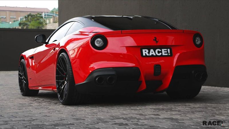 RACE South Africa Ferrari F12 Berlinetta Tuning ADV.1 Wheels 4 Dezent geändert   RACE! South Africa Ferrari F12 Berlinetta