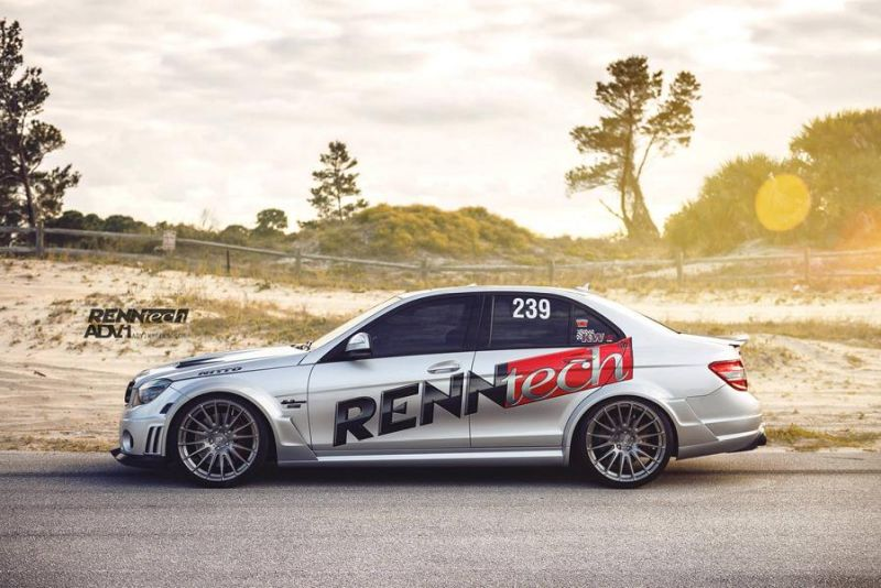 RENNtech C74 AMG Concept Car Tuning Mercedes C63 AMG W204 1 Ohne Worte   RENNtech C74 AMG Concept Car mit 630PS