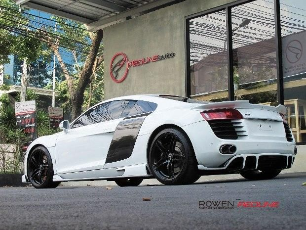 Redline Auto Thailand Rowen International Audi R8 Coupe Bodykit Tuning 1 Redline Auto Thailand   Rowen International Audi R8 Coupe