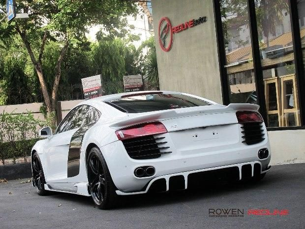 Redline Auto Thailand Rowen International Audi R8 Coupe Bodykit Tuning 3 Redline Auto Thailand   Rowen International Audi R8 Coupe