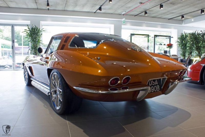 Restomod Chevrolet Corvette C2 LS7 V8 Tuning Power (11)