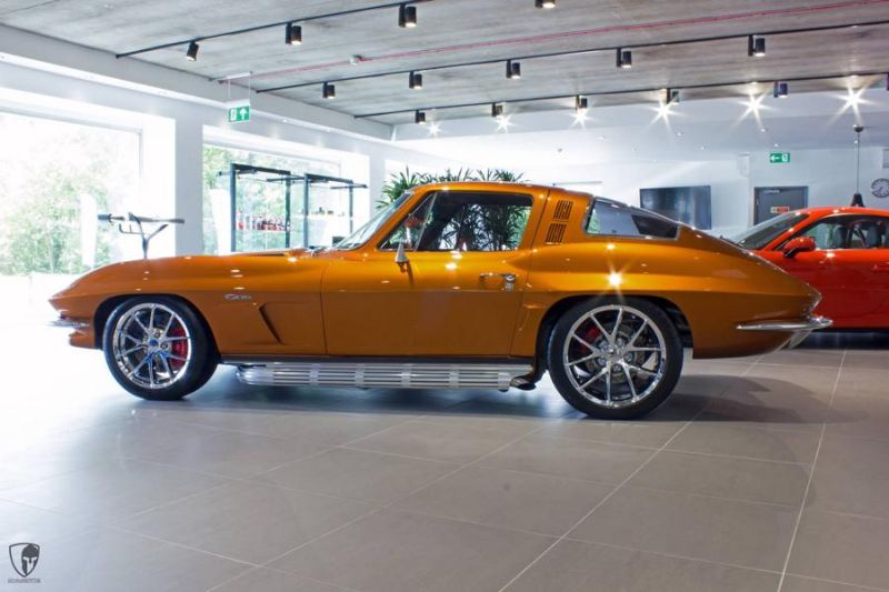 Restomod Chevrolet Corvette C2 LS7 V8 Tuning Power (12)