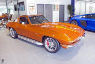 Restomod Chevrolet Corvette C2 LS7 V8 Tuning Power 17 190x127 zu verkaufen: Restomod Chevrolet Corvette C2 mit LS7 Power