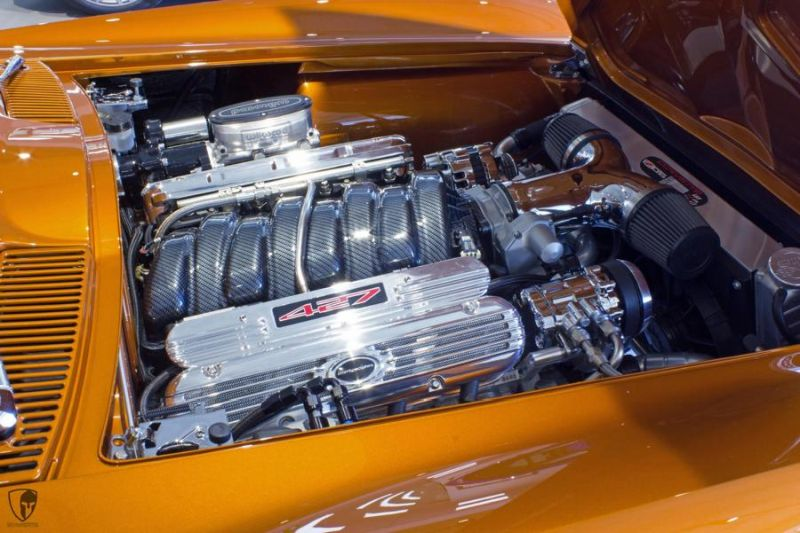 Restomod Chevrolet Corvette C2 LS7 V8 Tuning Power (22)