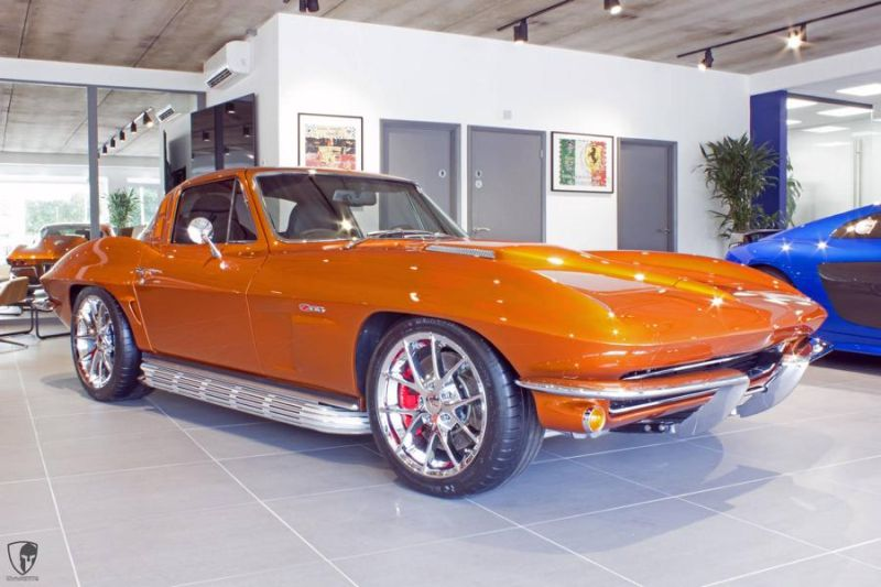 Restomod Chevrolet Corvette C2 LS7 V8 Tuning Power (7)