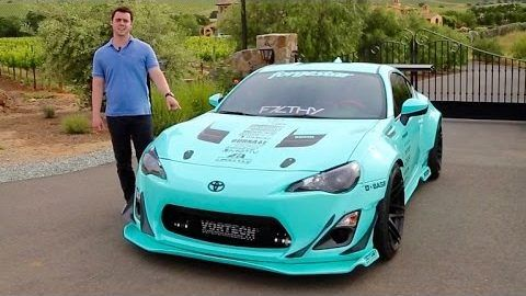 Rocket Bunnby Bodykit am Kompressor Scion FR S Video: Rocket Bunnby Bodykit am Kompressor Scion FR S