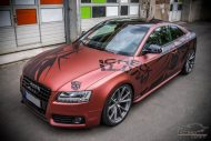 Russet red matt Folierung Audi A5 Check Matt Dortmund Tuning 20 190x127 Russet red matt Folierung am Audi A5 by Check Matt Dortmund