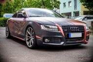 Russet red matt Folierung Audi A5 Check Matt Dortmund Tuning 3 190x127 Russet red matt Folierung am Audi A5 by Check Matt Dortmund