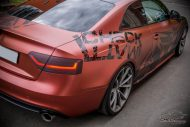 Russet red matt Folierung Audi A5 Check Matt Dortmund Tuning 9 190x127 Russet red matt Folierung am Audi A5 by Check Matt Dortmund