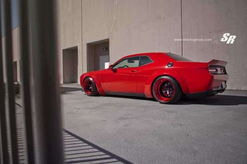 SR Auto Group Liberty Challenger PUR Wheels Tuning 8