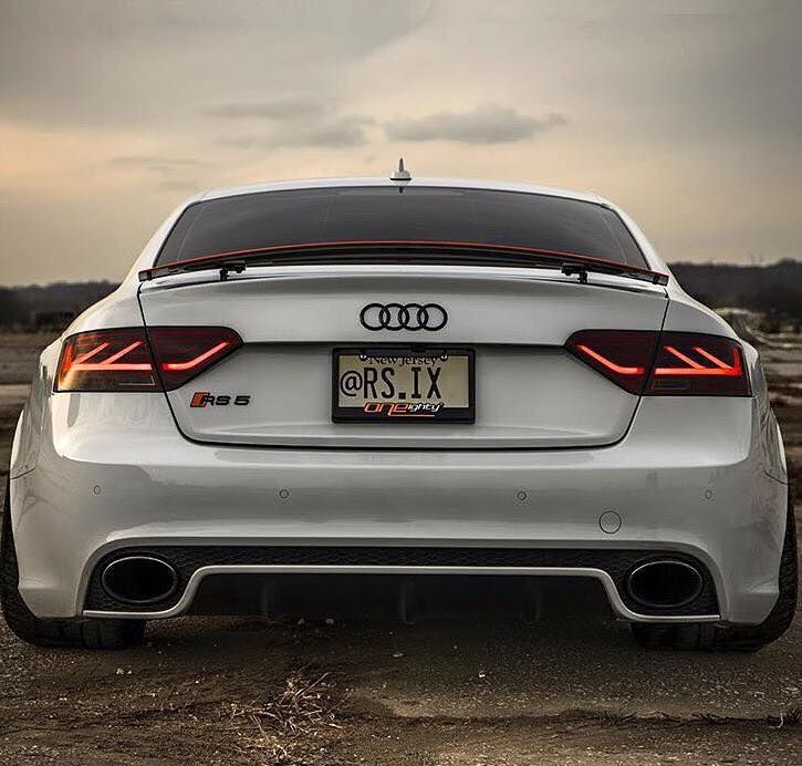 Tiefer Audi A5 Rs5 Mit 4 Rohr Rs5 Optik Exhaust By