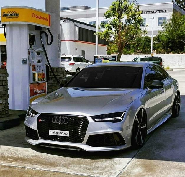 Audi Sportback Rs7 By Headlights With Black Tuning Blog
