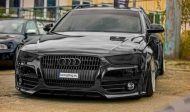 Slammed Widebody Audi A4 B8 Avant tuningblog.eu black 1 190x112 Tiefer Widebody Audi A4 B8 Avant in Schwarz by tuningblog.eu