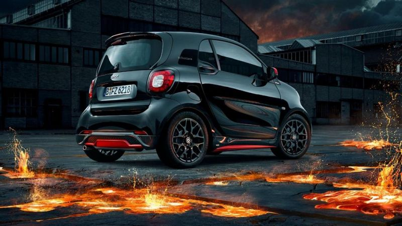 neu smart fortwo brabus edition urbanlava tuningblog. Black Bedroom Furniture Sets. Home Design Ideas