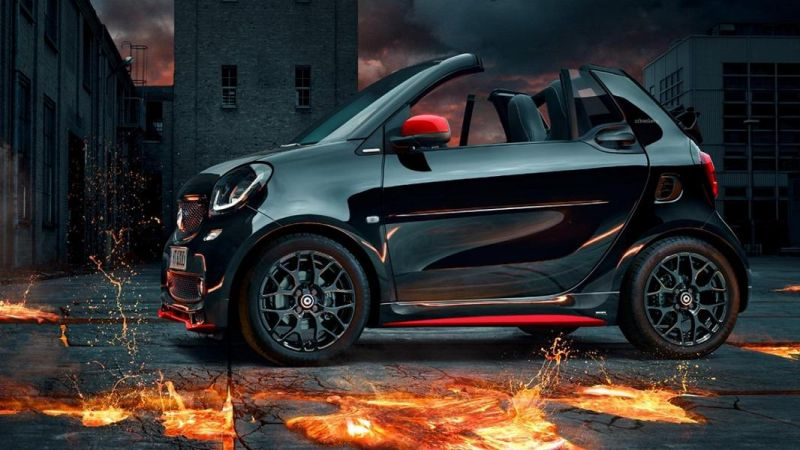 Neu smart fortwo brabus edition urbanlava tuningblog for Smart interieur