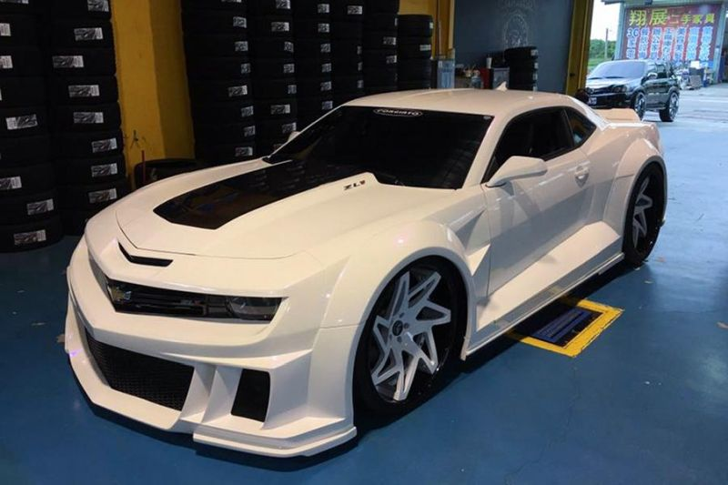 Stormtrooper Chevrolet Camaro ZL1 Widebody Forgiato ECL Tuning 5