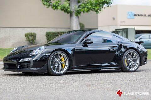 Supreme Power Techart Porsche 911 991 Tuning BBS FI R 1 Supreme Power Techart Porsche 911 (991) auf BBS Alu's