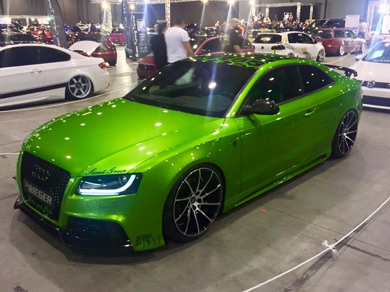 Sweet Green Audi A5 Coupe Tuning 2017 1 Fotostory: Audi A5 Coupe mit SKN Power und Java Green Lackierung