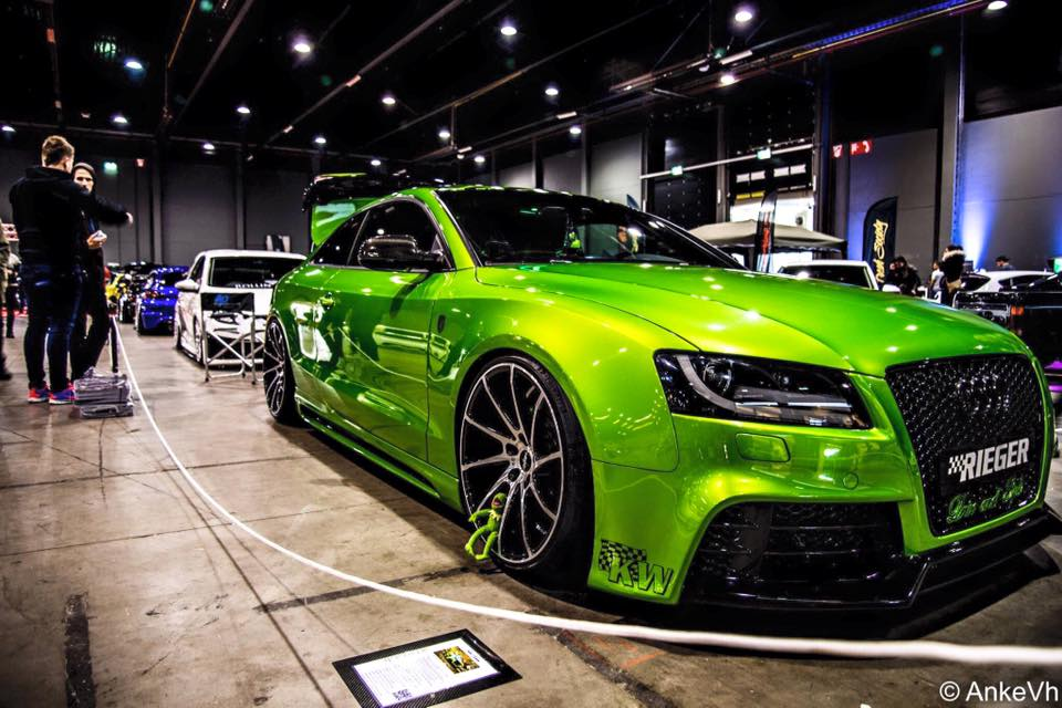 Sweet Green Audi A5 Coupe Tuning 2017 2 Fotostory: Audi A5 Coupe mit SKN Power und Java Green Lackierung