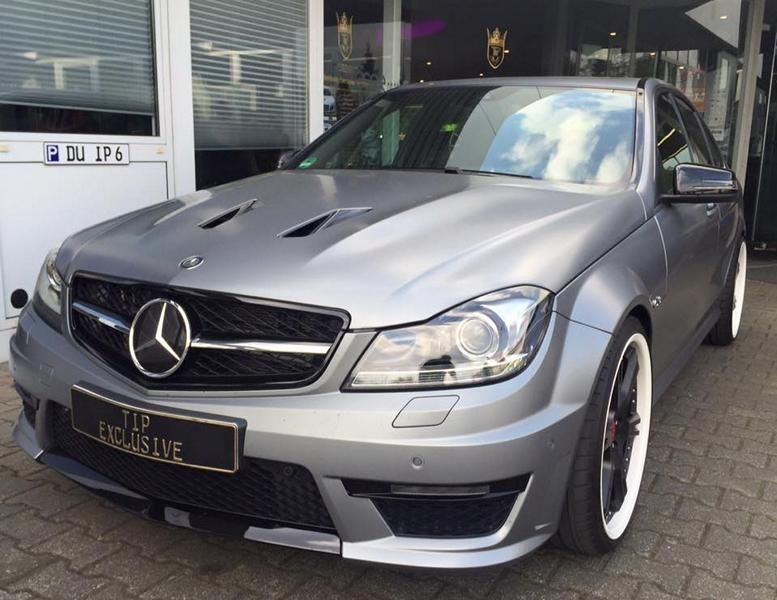 TIP Exclusive Mercedes C63 AMG Edition 507 20 Zoll 6 Sporz Ultralight Tuning 1 Mercedes C63 AMG Edition 507 auf 20 Zoll 6 Sporz Ultralight