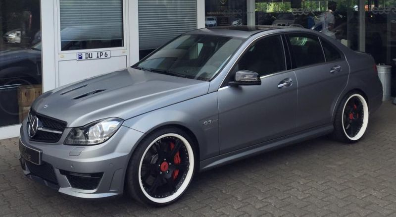 TIP Exclusive Mercedes C63 AMG Edition 507 20 Zoll 6-Sporz Ultralight Tuning 5