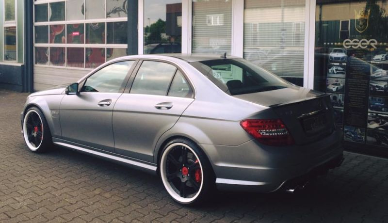 TIP Exclusive Mercedes C63 AMG Edition 507 20 Zoll 6-Sporz Ultralight Tuning 7
