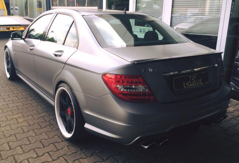 TIP Exclusive Mercedes C63 AMG Edition 507 20 Zoll 6-Sporz Ultralight Tuning 8