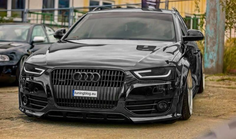 Deep Wide Body Audi Avant A4 B8 In Black By Tuningblog Eu