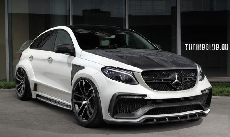 TopCar GLE Coupe Inferno Carbon 63AMG Mercedes Benz Airride Tuningblog 1 TopCar Mercedes GLE Coupe Inferno Carbon mit Airride by tuningblog.eu