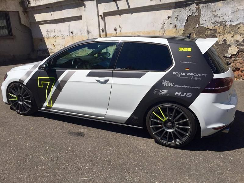 Vw Golf Gti 7 Szdesignfolierung Wrap Folia Project Tuning