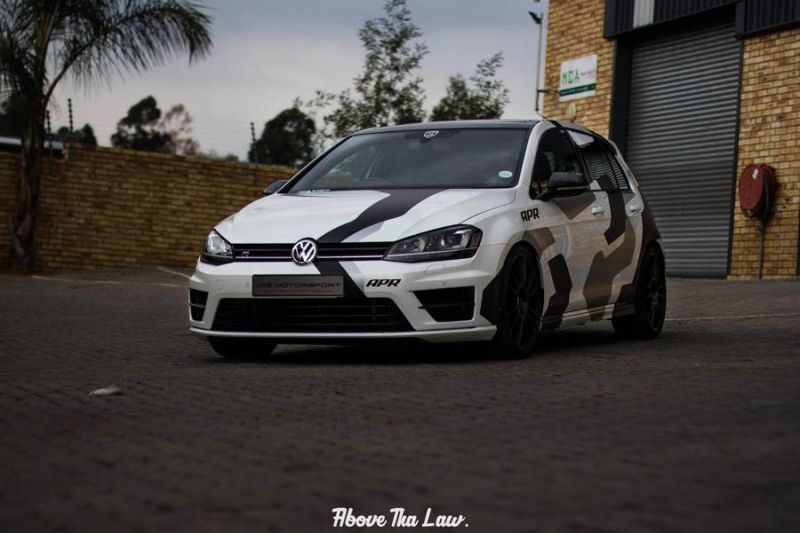 VW Golf 7R MK7 Tuning by VAG Motorsport APR Racing 1 Fotostory: 2 x VW Golf 7R (MK7) mit Tuning by VAG Motorsport