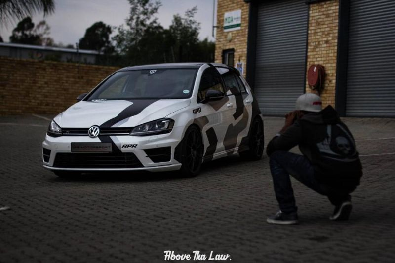 VW Golf 7R MK7 Tuning by VAG Motorsport APR Racing 2 Fotostory: 2 x VW Golf 7R (MK7) mit Tuning by VAG Motorsport