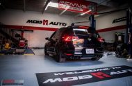 VW Golf R MK7 Forgestar F14 HR AWE Auspuff Tuning ModBargains 1 190x125 VW Golf R MK7 auf F14 Alu's & H&R Federn by ModBargains