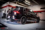 VW Golf R MK7 Forgestar F14 HR AWE Auspuff Tuning ModBargains 24 190x127 VW Golf R MK7 auf F14 Alu's & H&R Federn by ModBargains